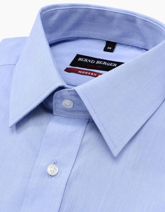 Bernd Berger Klassisches Dresshemd uni, MODERN FIT | ADLER Mode Onlineshop