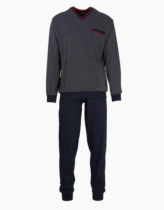 Götzburg Langer Pyjama   ADLER Mode Onlineshop