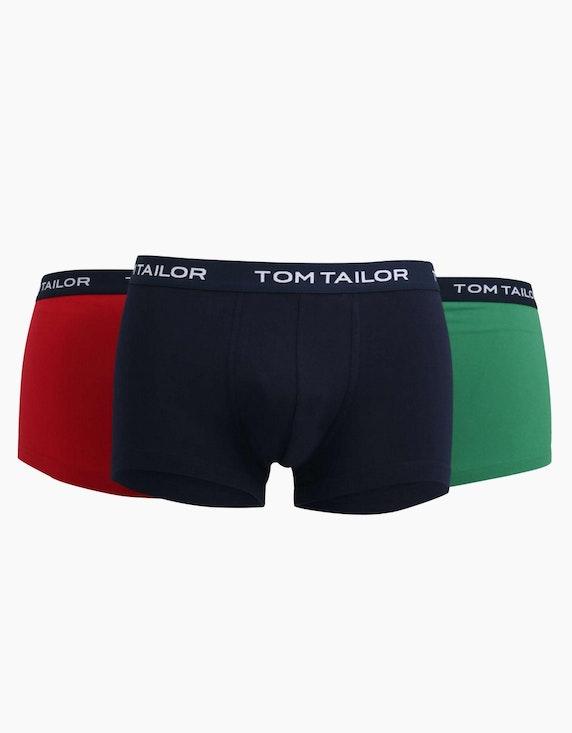 Tom Tailor Pants mit Webbund 3er Pack | ADLER Mode Onlineshop