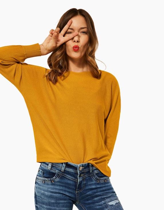 Street One Feinstrick-Pullover mit Fledermausärmeln   ADLER Mode Onlineshop