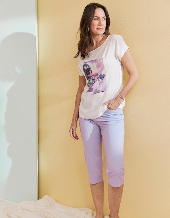 Bexleys woman Capri-Hose aus Baumwoll-Stretch mit Strasssteinen an den Taschen | ADLER Mode Onlineshop
