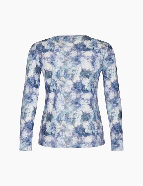 Bexleys woman Flauschiges Langarmshirt   ADLER Mode Onlineshop