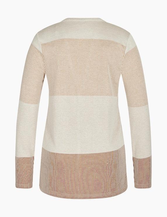 Bexleys woman Jacquard-Shirtjacke mit Streifenmuster | ADLER Mode Onlineshop
