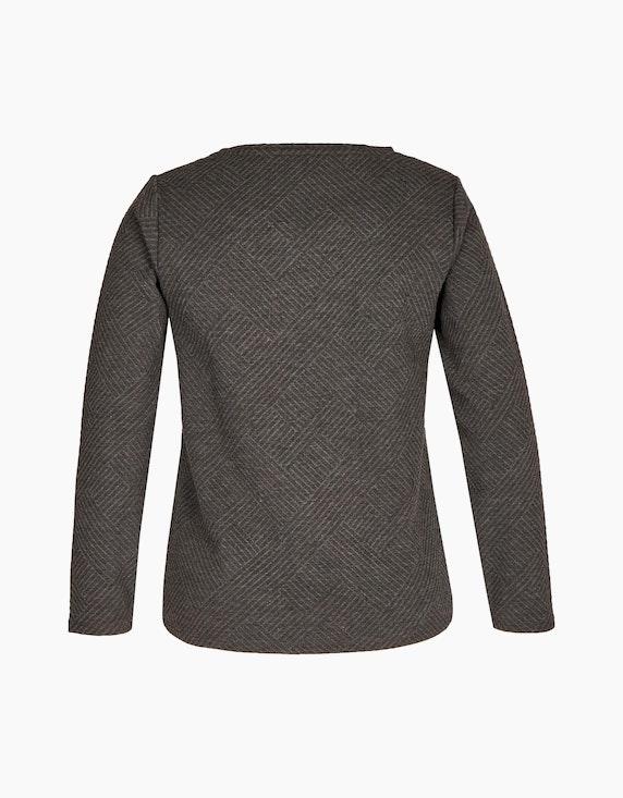 Bexleys woman Sweatshirt in Jacquard-Qualität   ADLER Mode Onlineshop