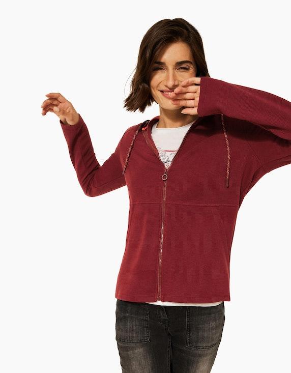 CECIL Kapuzen-Jacke im Ottoman-Style | ADLER Mode Onlineshop