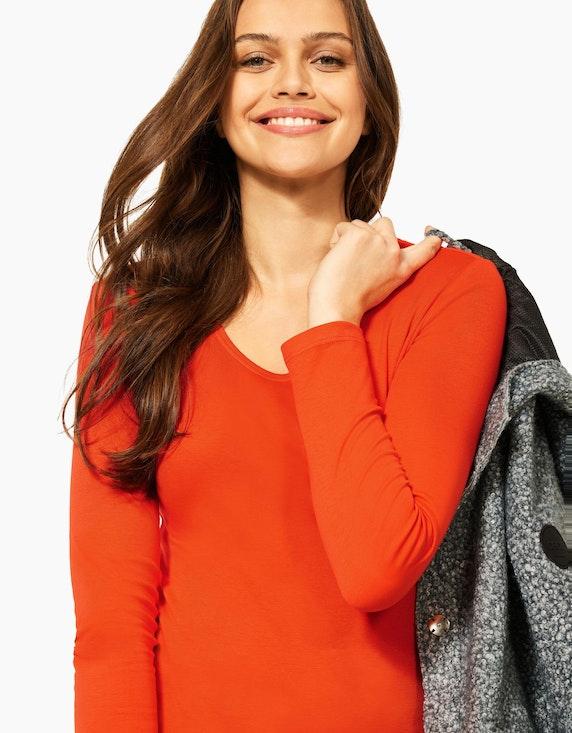 CECIL Basic-Shirt aus Bio-Baumwolle, Style Pia   ADLER Mode Onlineshop