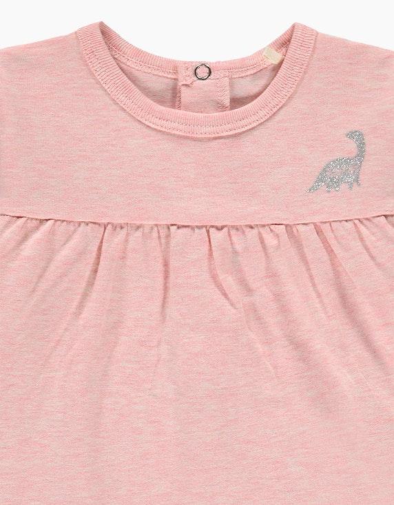 Esprit Baby Girls Langarmshirt mit Metallic-Print | ADLER Mode Onlineshop