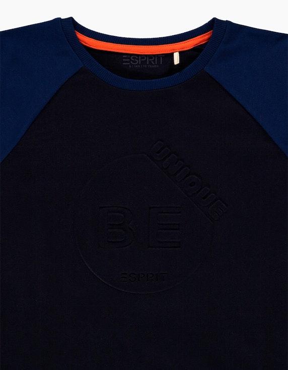 Esprit Boys Langarmshirt mit 3D-Print aus reiner Baumwolle   ADLER Mode Onlineshop