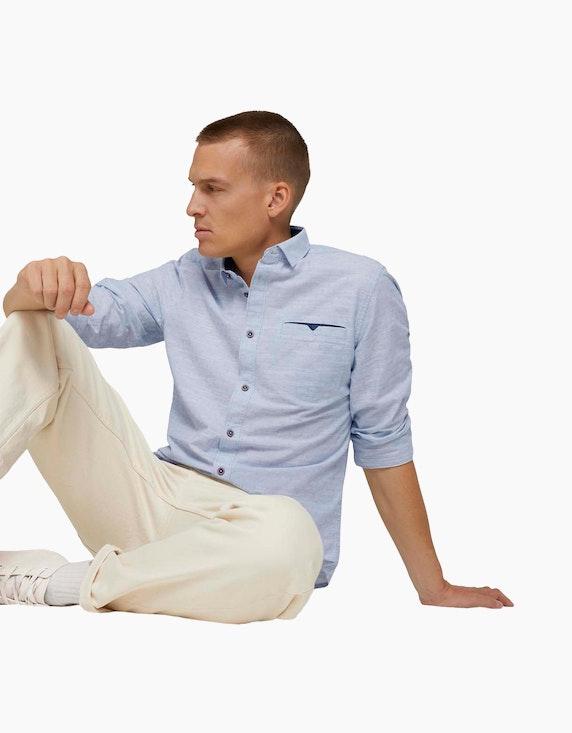 Tom Tailor Strukturiertes Hemd   ADLER Mode Onlineshop