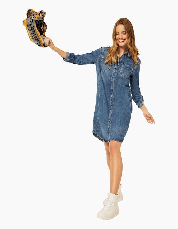 Street One Denim-Jeans-Kleid, reine Baumwolle   ADLER Mode Onlineshop