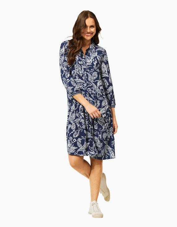 CECIL Hemdblusen-Kleid mit Paisley-Muster   ADLER Mode Onlineshop