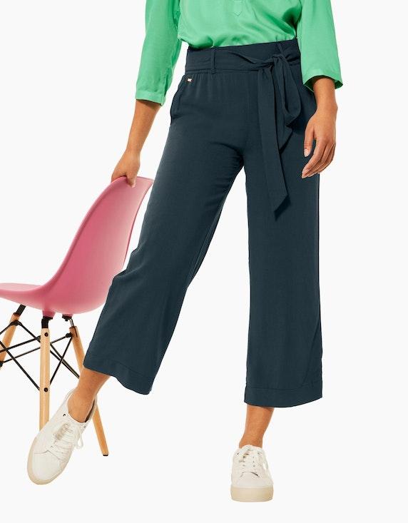 Street One Loose Fit Hose mit Wide Legs | ADLER Mode Onlineshop