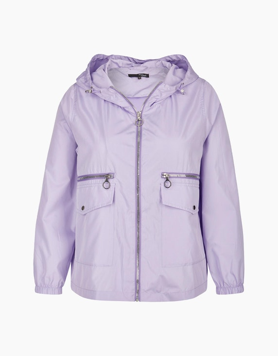 MY OWN leichte Jacke mit Kapuze in Flieder | ADLER Mode Onlineshop