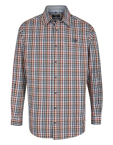 Produktbild zu <strong>Kariertes Freizeithemd mit Bruststickerei</strong>REGULAR FIT von Bexleys man