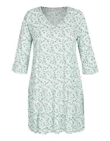 Produktbild zu Stufenkleid mit floralem Druck von Made in Italy
