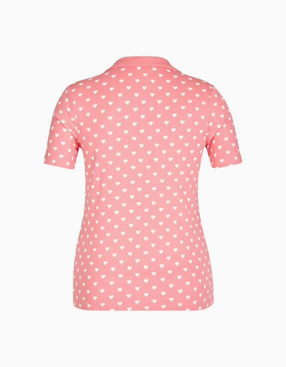 Bexleys woman Poloshirt mit Herz-Druck | ADLER Mode Onlineshop