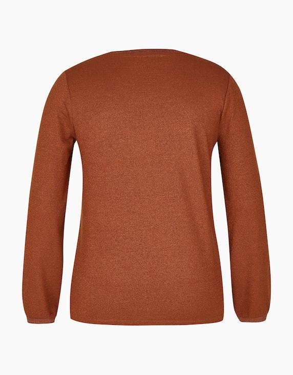 MY OWN Langarmshirt mit Glitzer-Effekt   ADLER Mode Onlineshop