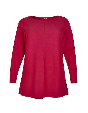 Produktbild zu Strick-Pullover aus reiner Baumwolle von Thea