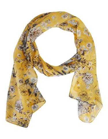 Produktbild zu Schal mit Blumenmuster von Thea