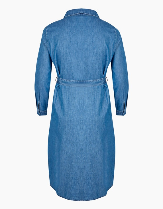 MY OWN Kleid im Jeans-Look mit Bindegürtel   ADLER Mode Onlineshop