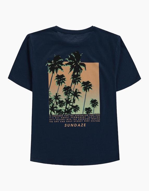 Tom Tailor Boys T-Shirt mit bedruckter Rückseite   ADLER Mode Onlineshop