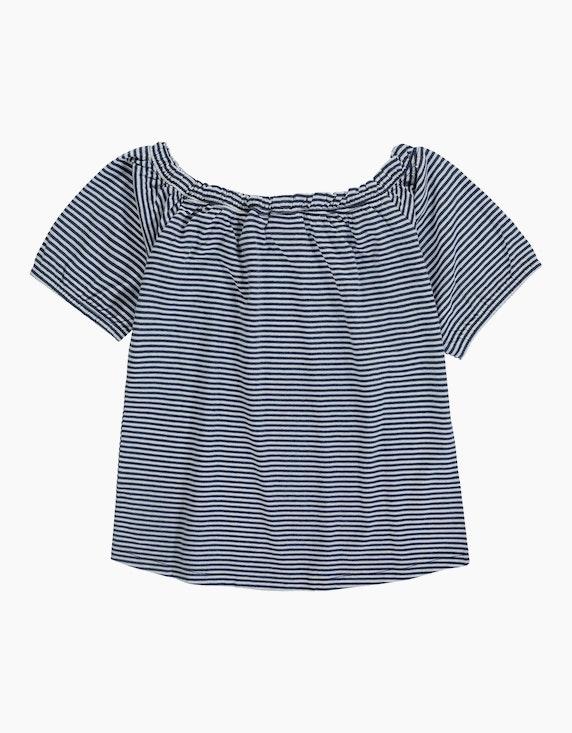 Tom Tailor Girls T-Shirt im Carmen-Stil | ADLER Mode Onlineshop