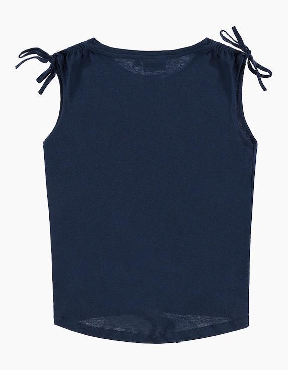 Tom Tailor Girls ärmelloses Shirt mit Knotendetail | ADLER Mode Onlineshop