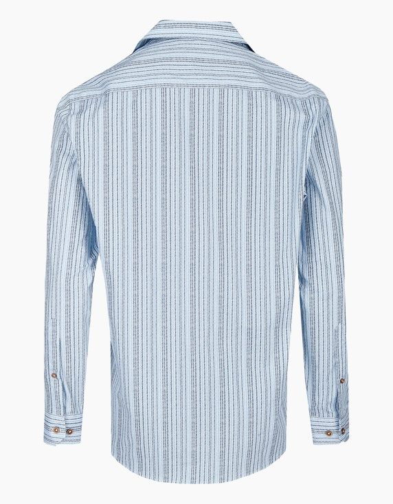 Bexleys man Freizeithemd, langarm, print | ADLER Mode Onlineshop