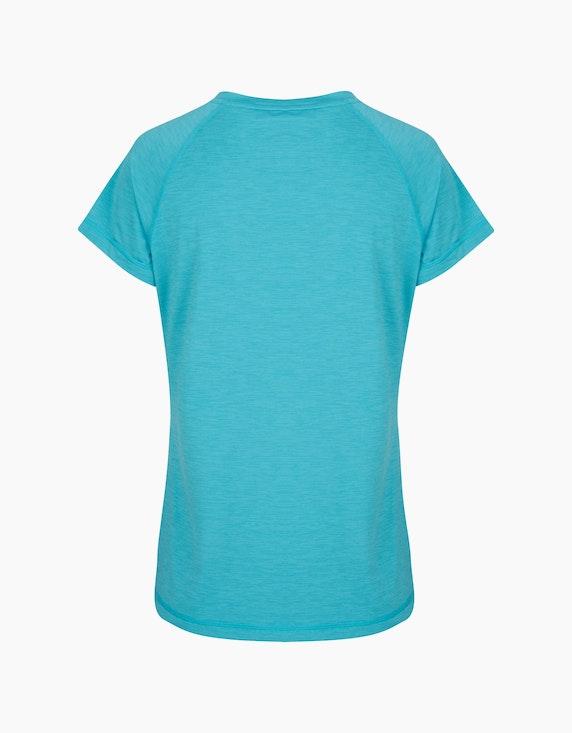 Fit&More Fitness T-Shirt mit V-Ausschnitt   ADLER Mode Onlineshop