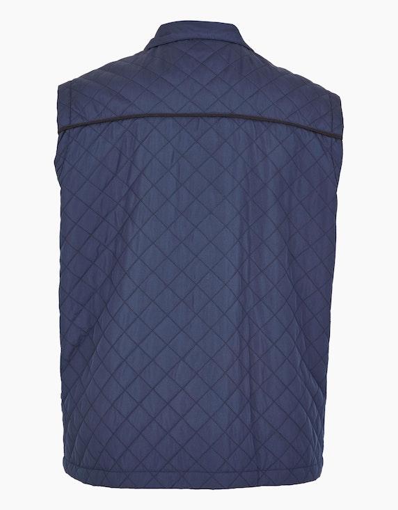 Big Fashion leichte Steppweste mit aufgesetzten Taschen   ADLER Mode Onlineshop