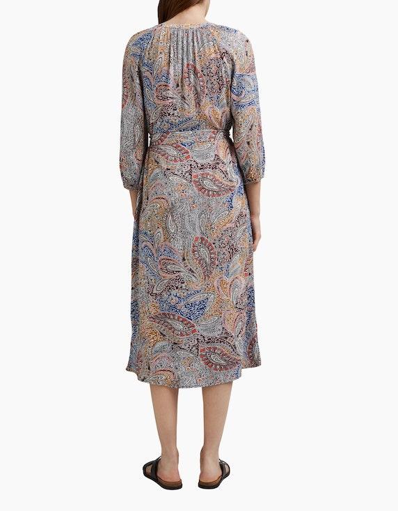 Esprit Crinkle-Blusenkleid mit Paisley-Print   ADLER Mode Onlineshop