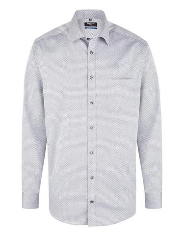 Produktbild zu <strong>Dresshemd mit Struktur</strong>REGULAR FIT von Bexleys man