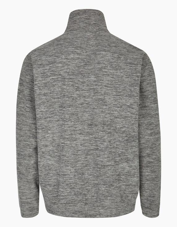 Bexleys man Fleece-Jacke mit großer Reißverschluss-Brusttasche | ADLER Mode Onlineshop