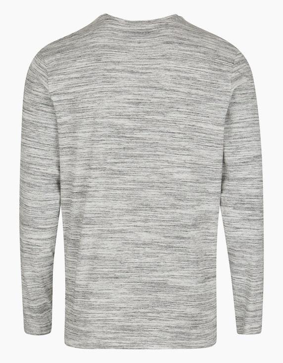 Bexleys man Langarmshirt mit Brustprint   ADLER Mode Onlineshop