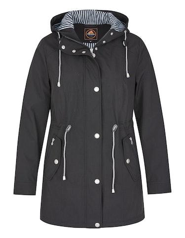 Produktbild zu Softshell-Jacke mit Taillentunnelzug von Eibsee