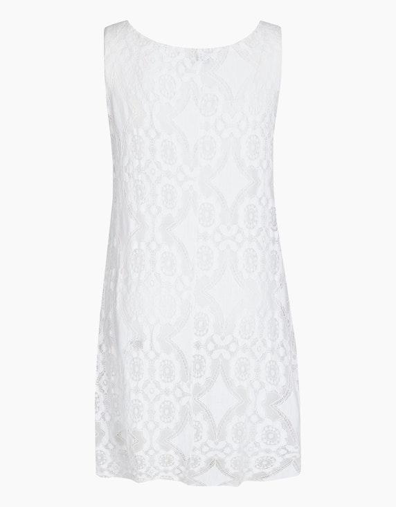 Made in Italy Kleid mit Häkelspitzendetails   ADLER Mode Onlineshop