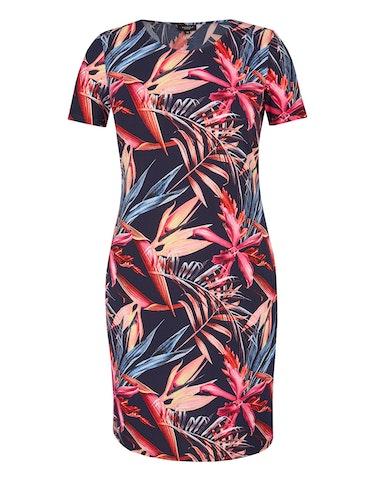 Produktbild zu Floral bedrucktes Jerseykleid von Bexleys woman