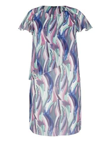 Produktbild zu Kleid in Chiffonqualität von Bexleys woman