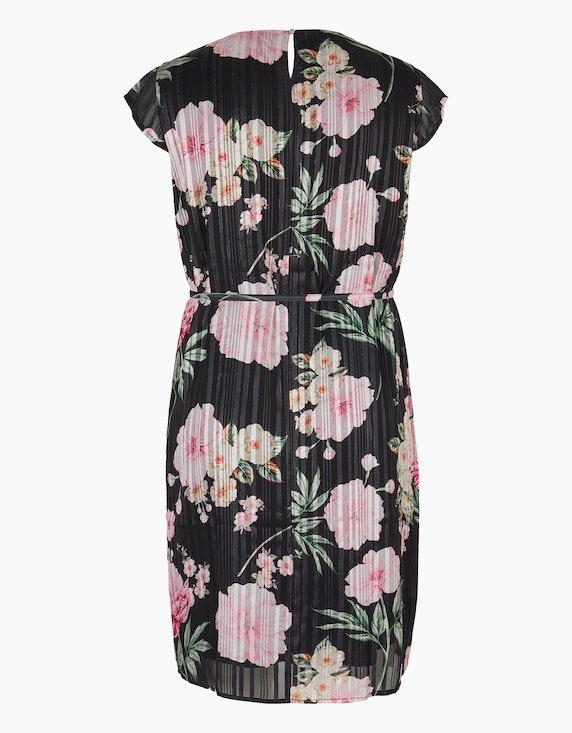 Bexleys woman Chiffonkleid mit Streifen und Blumen | ADLER Mode Onlineshop