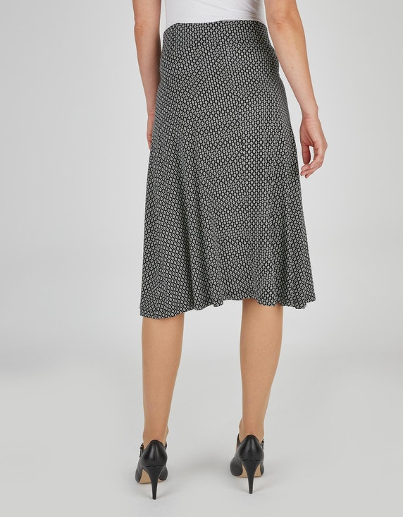 Bexleys woman Jerseyrock mit Minimal-Print | ADLER Mode Onlineshop