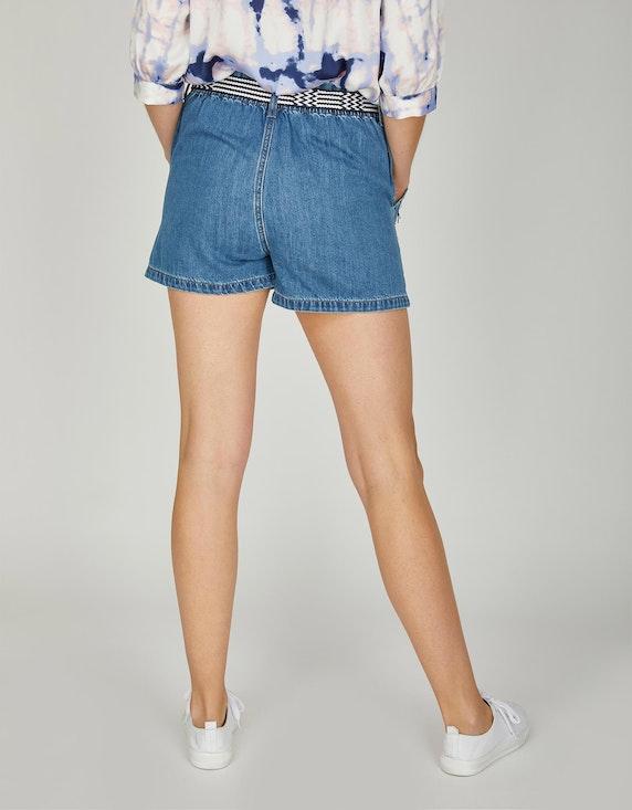 Via Cortesa Jeans-Shorts mit Gürtel   ADLER Mode Onlineshop