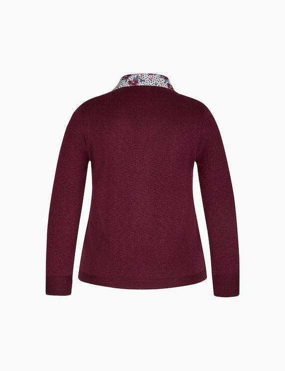 Malva Pullover mit eingesetztem Blusenkragen   ADLER Mode Onlineshop