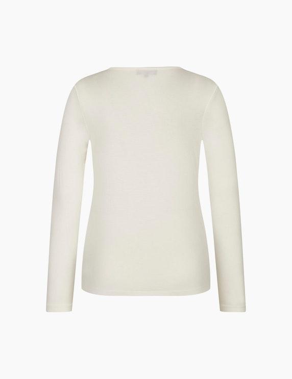 Bexleys woman Langarmshirt mit Struktur   ADLER Mode Onlineshop