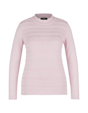 Produktbild zu Pullover mit Struktur-Streifen von Bexleys woman