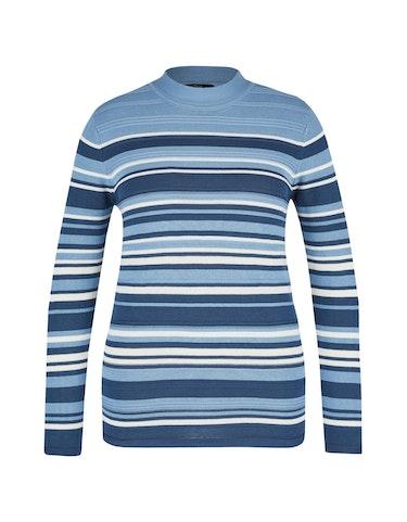 Produktbild zu Pullover im Streifen-Dessin von Bexleys woman