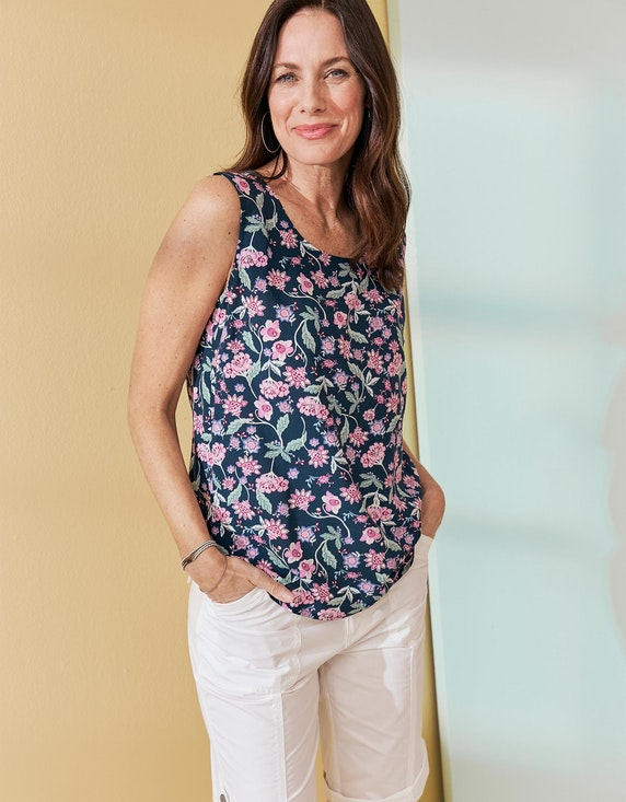 Bexleys woman Blusentop mit verspieltem Blumen-Druck | ADLER Mode Onlineshop