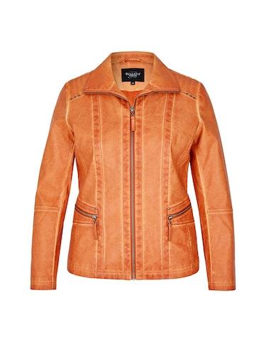 Produktbild zu Lederimitat-Jacke im Used-Look von Bexleys woman