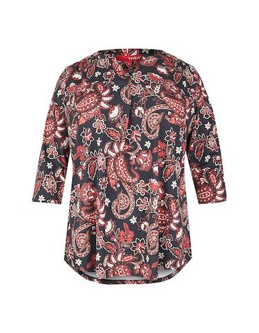 Produktbild zu Blusenshirt mit Blumen-Paisley-Muster von Thea