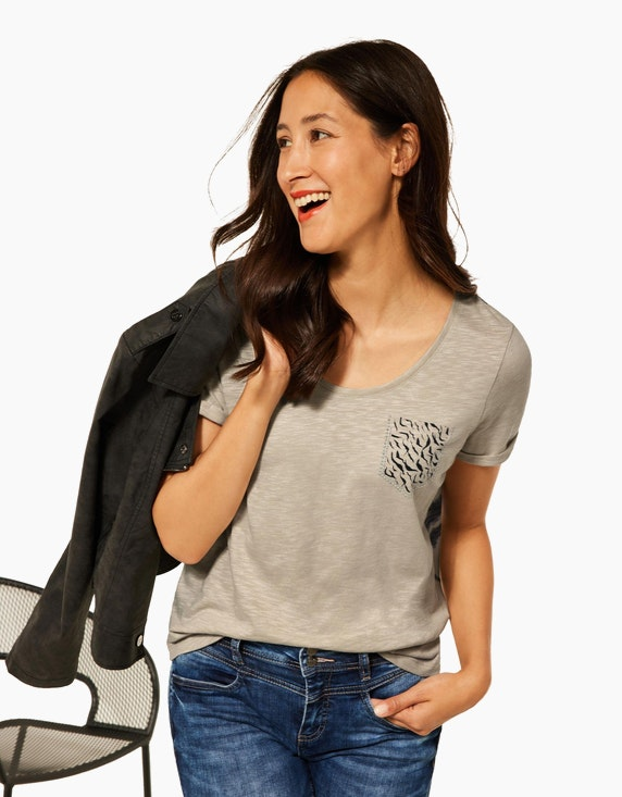 Street One Shirt mit Zebra-Print | ADLER Mode Onlineshop