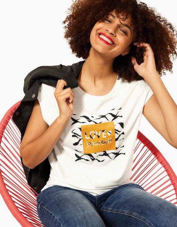 Street One Shirt mit Frontdruck | ADLER Mode Onlineshop